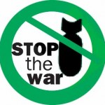 stop the war bomb